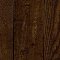 "LW Mountain Pre-Finished Hand-Scraped Oak:  Ebony 3/4"" x 4 3/4"" Solid Hardwood LWSHE43"