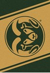 Milliken College Team Spirit (NCAA) Colorado State 74232 Spirit Rectangle (4000019447) 2'8