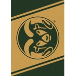 "Milliken College Team Spirit (NCAA) Colorado State 74232 Spirit Rectangle (4000019214) 5'4"" x 7'8"" Area Rug"