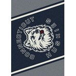 "Milliken College Team Spirit (NCAA) Connecticut 45292 Spirit Rectangle (4000019057) 3'10"" x 5'4"" Area Rug"