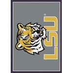 "Milliken College Team Spirit (NCAA) LSU 45280 Spirit Rectangle (4000019404) 2'8"" x 3'10"" Area Rug"