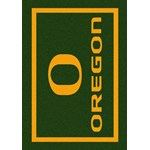 "Milliken College Team Spirit (NCAA) Oregon 45816 Spirit Rectangle (4000019302) 7'8"" x 10'9"" Area Rug"