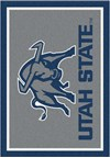 Milliken College Team Spirit (NCAA) Utah State 74382 Spirit Rectangle (4000019466) 2'8