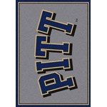 "Milliken College Team Spirit (NCAA-SPT) Pittsburgh 00394 Spirit Rectangle (4000054454) 7'8"" x 10'9"" Area Rug"