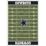 "Milliken NFL Team Home Field (NFL-F) Dallas Cowboys 01027 Home Field Rectangle (4000019889) 10'9"" x 13'2"" Area Rug"