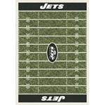 "Milliken NFL Team Home Field (NFL-F) New York Jets 01066 Home Field Rectangle (4000019870) 7'8"" x 10'9"" Area Rug"