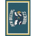 "Milliken NBA Team Spirit (NBA-S) New Orleans Hornets 01019 Spirit Rectangle (4000052748) 7'8"" x 10'9"" Area Rug"