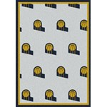 "Milliken NBA Team Repeat (NBA-R) Indiana Pacers 01111 Repeat Rectangle (4000052580) 5'4"" x 7'8"" Area Rug"