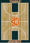 Milliken College Home Court (NCAA) Auburn 01030 Court Rectangle (4000018282) 3'10