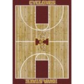 Milliken College Home Court (NCAA) Iowa State 01111 Court Rectangle (4000018296) 3