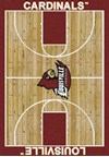 Milliken College Home Court (NCAA) Louisville 01150 Court Rectangle (4000018472) 7'8