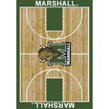 Milliken College Home Court (NCAA) Marshall 01153 Court Rectangle (4000018304) 3