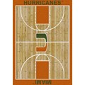 Milliken College Home Court (NCAA) Miami 01157 Court Rectangle (4000018306) 3