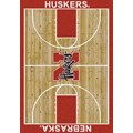 Milliken College Home Court (NCAA) Nebraska 01230 Court Rectangle (4000018316) 3