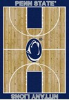 Milliken College Home Court (NCAA) Penn State 01300 Court Rectangle (4000018495) 7'8