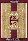 Milliken College Home Court (NCAA) Texas A&M 01420 Court Rectangle (4000018341) 3'10