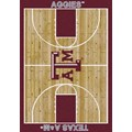 Milliken College Home Court (NCAA) Texas A&M 01420 Court Rectangle (4000018341) 3