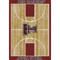 Milliken College Home Court (NCAA) Texas Tech 01440 Court Rectangle (4000018343) 3