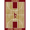 Milliken College Home Court (NCAA) Virginia Tech 01460 Court Rectangle (4000018350) 3