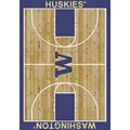 Milliken College Home Court (NCAA) Washington 01464 Court Rectangle (4000018352) 3