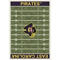 Milliken College Home Field (NCAA) East Carolina 01068 Home Field Rectangle (4000018547) 5