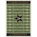 Milliken College Home Field (NCAA) Vanderbilt 01453 Home Field Rectangle (4000096225) 5