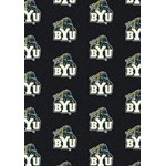 "Milliken College Repeating (NCAA) Brigham Young 01048 Repeat Rectangle (4000018901) 7'8"" x 10'9"" Area Rug"