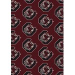 "Milliken College Repeating (NCAA) South Carolina 01350 Repeat Rectangle (4000019012) 10'9"" x 13'2"" Area Rug"
