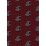 "Milliken College Repeating (NCAA) Washington State 01466 Repeat Rectangle (4000019028) 10'9"" x 13'2"" Area Rug"