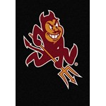 "Milliken College Team Spirit (NCAA) Arizona State 79540 Spirit Rectangle (4000019146) 3'10"" x 5'4"" Area Rug"