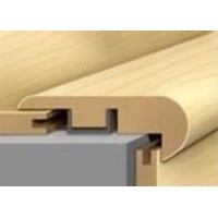 "Mannington Revolutions Plank Diamond Bay: Stair Nose Hawaiian Koa Aloha Gold - 94"" Long"