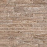 "Daltile Season Wood: Redwood Grove 12"" x 48"" Porcelain Tile SW04-12481P"