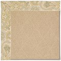 Capel Rugs Creative Concepts Cane Wicker - Paddock Shawl Mineral (310) Octagon 4