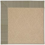 Capel Rugs Creative Concepts Cane Wicker - Vierra Graphite (320) Octagon 4' x 4' Area Rug