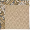 Capel Rugs Creative Concepts Cane Wicker - Bahamian Breeze Ocean (420) Octagon 4