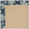 Capel Rugs Creative Concepts Cane Wicker - Bandana Indigo (465) Octagon 4