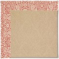 Capel Rugs Creative Concepts Cane Wicker - Imogen Cherry (520) Octagon 4