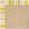 Capel Rugs Creative Concepts Cane Wicker - Kalani Coconut (615) Octagon 4