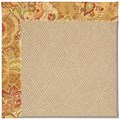 Capel Rugs Creative Concepts Cane Wicker - Tuscan Vine Adobe (830) Octagon 4