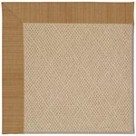 Capel Rugs Creative Concepts Cane Wicker - Dupione Caramel (150) Octagon 6' x 6' Area Rug
