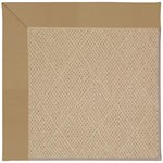Capel Rugs Creative Concepts Cane Wicker - Canvas Linen (175) Octagon 6' x 6' Area Rug