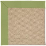 Capel Rugs Creative Concepts Cane Wicker - Canvas Citron (213) Octagon 8' x 8' Area Rug