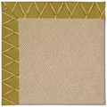 Capel Rugs Creative Concepts Cane Wicker - Bamboo Tea Leaf (236) Octagon 10