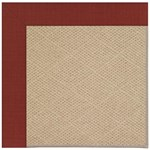 Capel Rugs Creative Concepts Cane Wicker - Dupione Henna (585) Octagon 10' x 10' Area Rug