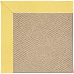Capel Rugs Creative Concepts Cane Wicker - Canvas Buttercup (127) Octagon 12' x 12' Area Rug