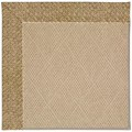 Capel Rugs Creative Concepts Cane Wicker - Tampico Rattan (716) Octagon 12
