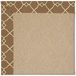 Capel Rugs Creative Concepts Cane Wicker - Arden Chocolate (746) Octagon 12' x 12' Area Rug