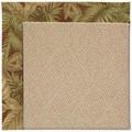 Capel Rugs Creative Concepts Cane Wicker - Bahamian Breeze Cinnamon (875) Octagon 12