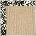 "Capel Rugs Creative Concepts Cane Wicker - Coral Cascade Ebony (385) Runner 2' 6"" x 8' Area Rug"
