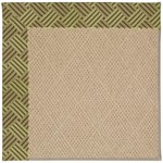 "Capel Rugs Creative Concepts Cane Wicker - Dream Weaver Marsh (211) Runner 2' 6"" x 10' Area Rug"